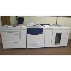 Xerox 700 Digital Color Press Copy Machine, Working
