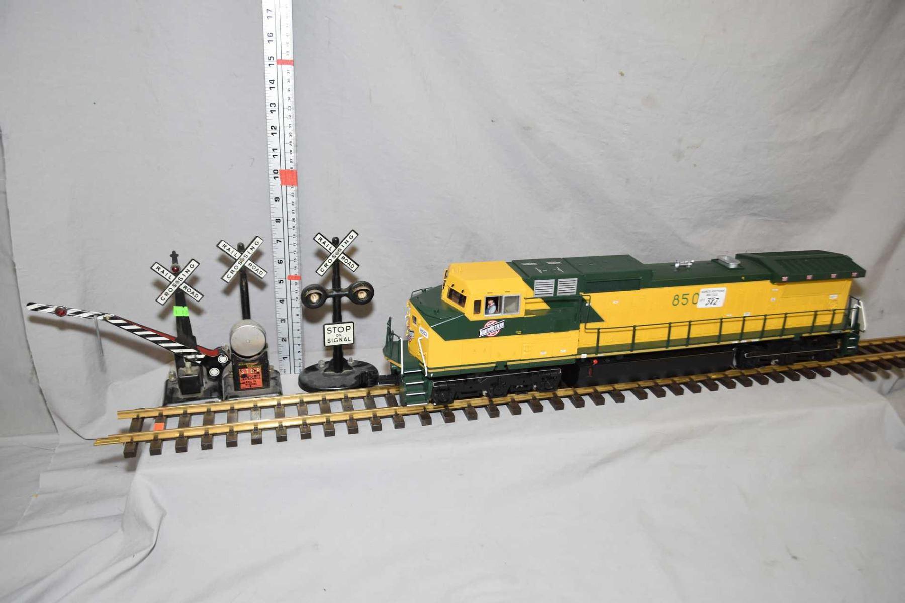 Railking One-Gauge Trains G-scale Dash 8-40CW diesel