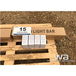 120 WATT 30 VOLT LED LIGHT BAR & (4) WORK LIGHTS