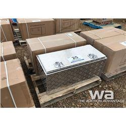 (2) ALUM. TOOL BOXES