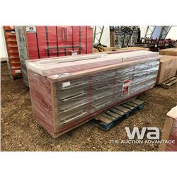 10 FT. 20 DRAWER HEAVY DUTY METAL WORK BENCH
