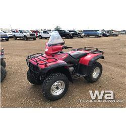 2001 HONDA 350 FOURTRAX ATV