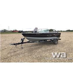 2008 LUND 1700 PRO SPORT FISHING BOAT