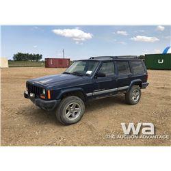 2001 JEEP CHEROKEE SPORT SUV