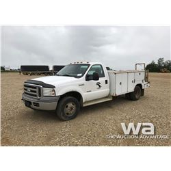 2005 FORD F350 SERVICE TRUCK