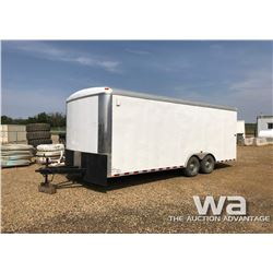 2013 MIRAGE 20 FT. ENCLOSED T/A TRAILER