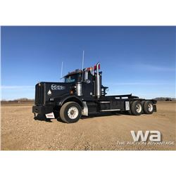 1995 KENWORTH T800 TEXAS BED TRUCK