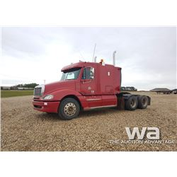2005 FREIGHTLINER COLUMBIA T/A HIGHWAY TRACTOR
