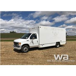 2003 FORD E450 S/A VAN TRUCK