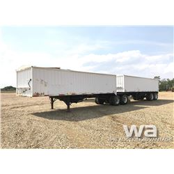 1981 LOAD KING B-TRAIN GRAIN TRAILERS