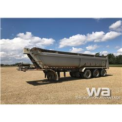 2003 DOEPKER END DUMP TRIDEM TRAILER