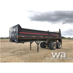 1982 ESLER T/A  END DUMP TRAILER