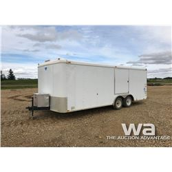 2000 INTERSTATE ENCLOSED TRAILER