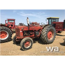 MCCORMICK W9 TRACTOR