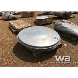 BIN LIDS, MOTOR, (2) BOXES OF NAILS