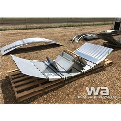 WALL SHEETS & AUGER CHUTE