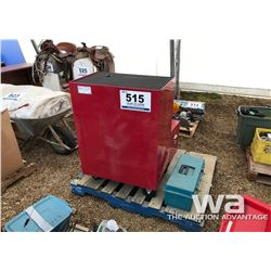 (2) RED TOOL CHESTS W/ TOOLS