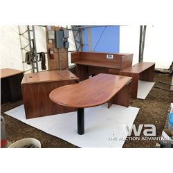 (2) OFFICE DESKS
