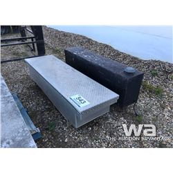 ALUMINUM JOCKEY BOX / SLIPTANK