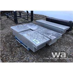 (2) ALUMINUM JOCKEY BOXES