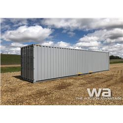 8 X 40 FT. H/C SHIPPING CONTAINER