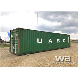 2002 8 X 40 FT. H/C SHIPPING CONTAINER