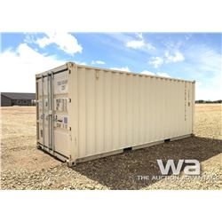 2015 8 X 20 FT. SHIPPING CONTAINER