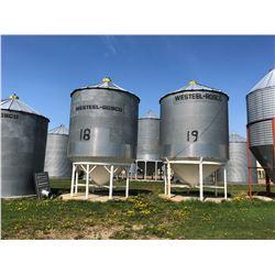 LOCATION 7:  WESTEEL 5 RING X 14 FT. HOPPER BIN