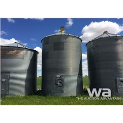 LOCATION 9: WESTEEL 7 RING 14 FT. GRAIN BIN