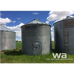 LOCATION 9: WESTEEL 5 RING 14 FT. GRAIN BIN
