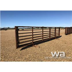 6 X 24 FT. FREE STANDING LIVESTOCK PANELS