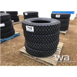 (4) LONGMARCH 11R24.5 TRUCK DRIVE TIRES