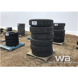 (6) MICHELIN 295/80R22.5 TRAILER TIRES