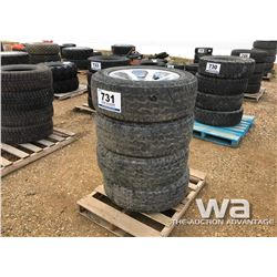 (4) HANKOOK 275/60R20 RIMS & TIRES