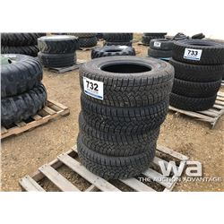 (4) GOODYEAR LT265/70R17 WINTER TIRES