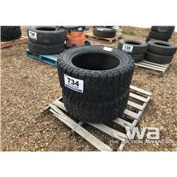 (2) MICKEY THOMPSON 325/50R20 TIRES