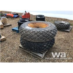 (2) GOODYEAR 16.9-26 TURF TIRES