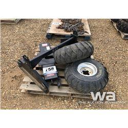 5TH WHEEL HITCH, ATV TIRES & RIMS