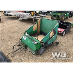JOHN DEERE POWER LAWN SWEEP
