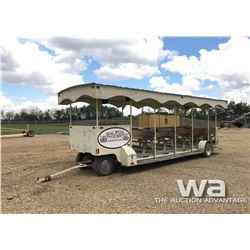 22 PASSENGER HORSE DRAWN TROLLEY