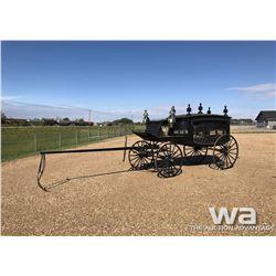 1886 HORSE DRAWN HEARSE