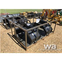 HD SKID STEER GRAPPLE BUCKET