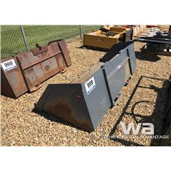 "VERSATECH 90"" SKID STEER BUCKET"