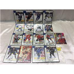 1997/98 Pinacle (BAP) (17 Cards)
