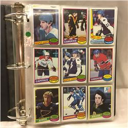 1981 O-Pee-Chee Card Collection (Binder with 232 Cards !)