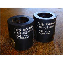 "TSD Microbore 3/16"" Capacity Adjustable Boring Heads, P/N: GAH-02-018"