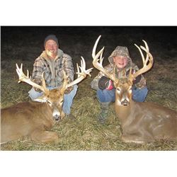 Whitetail Deer Hunt for Two Hunters