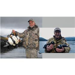 Hunt Package - Sea Ducks in Alaska Sponsored by: Archipelago Adventures