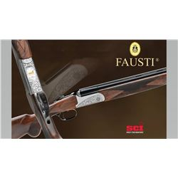Fausti Caledon Limited Edition 20 gauge Over/Under shotgun. (Only 30 Available) Sponsored by: Four C