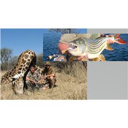 Hunt Package - Giraffe & Tiger Fish Adventure Sponsored by: Eldoret Safaris